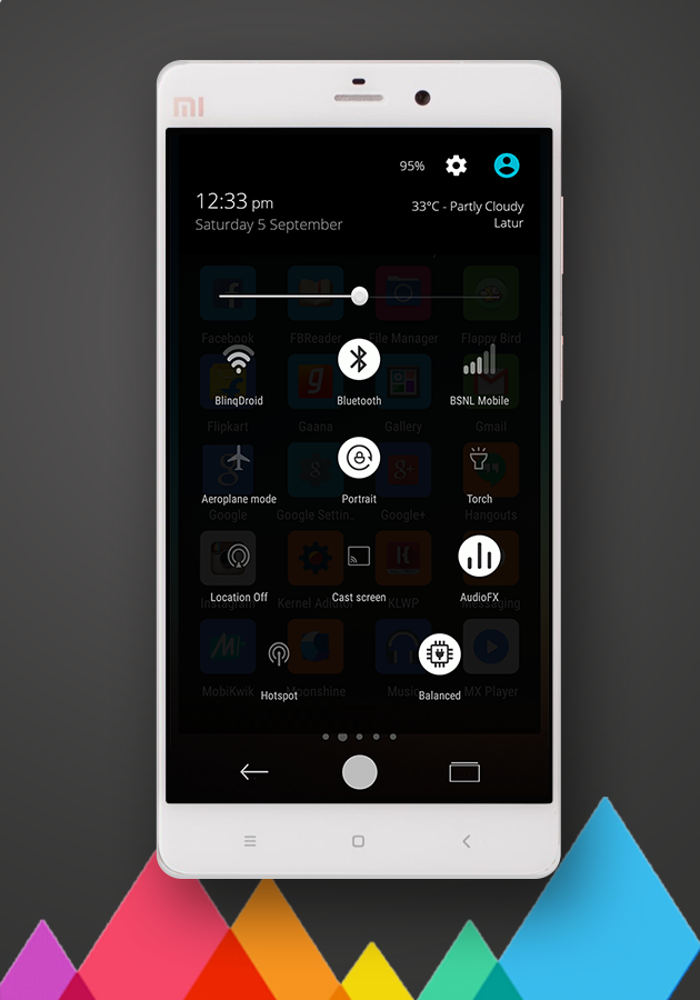 MIUIV7 Dark Theme for CM12 1 3 APK Download - Android