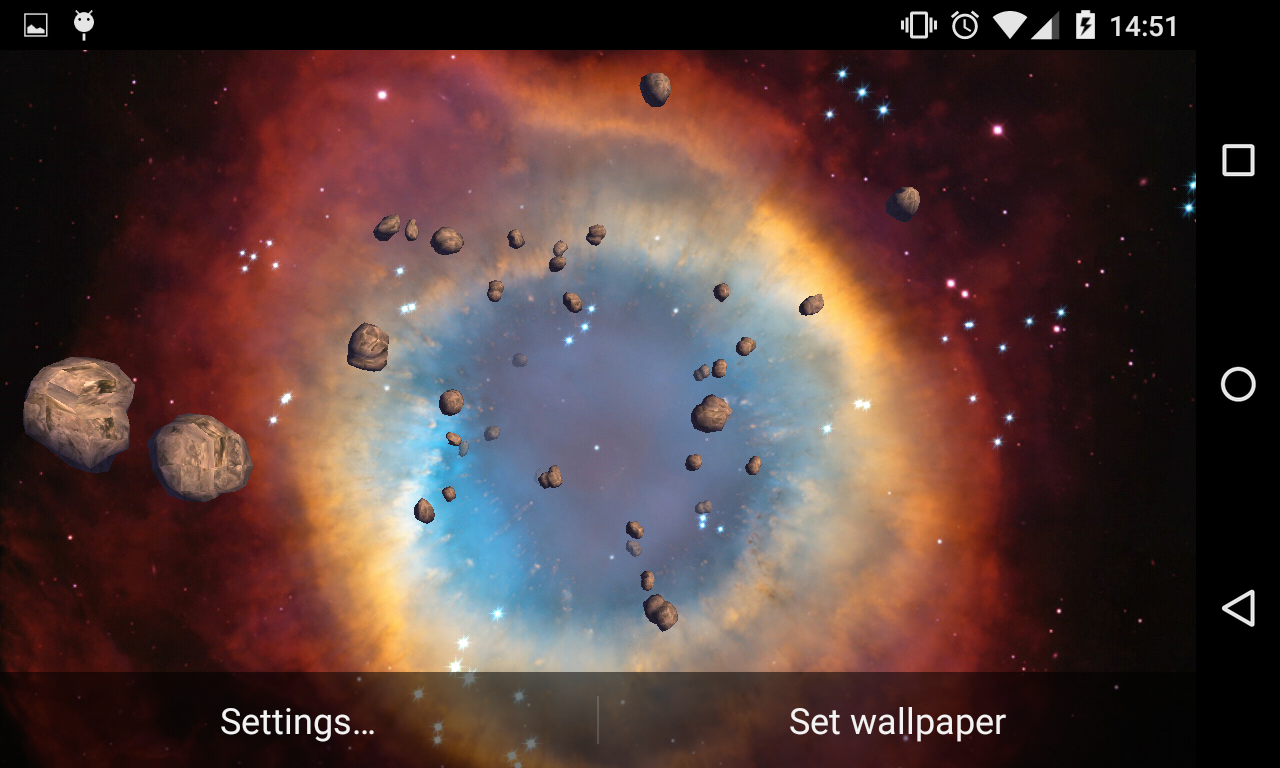 asteroids 3d live wallpaper  3D Asteroids Live Wallpaper 1.28 APK Download - Android ...