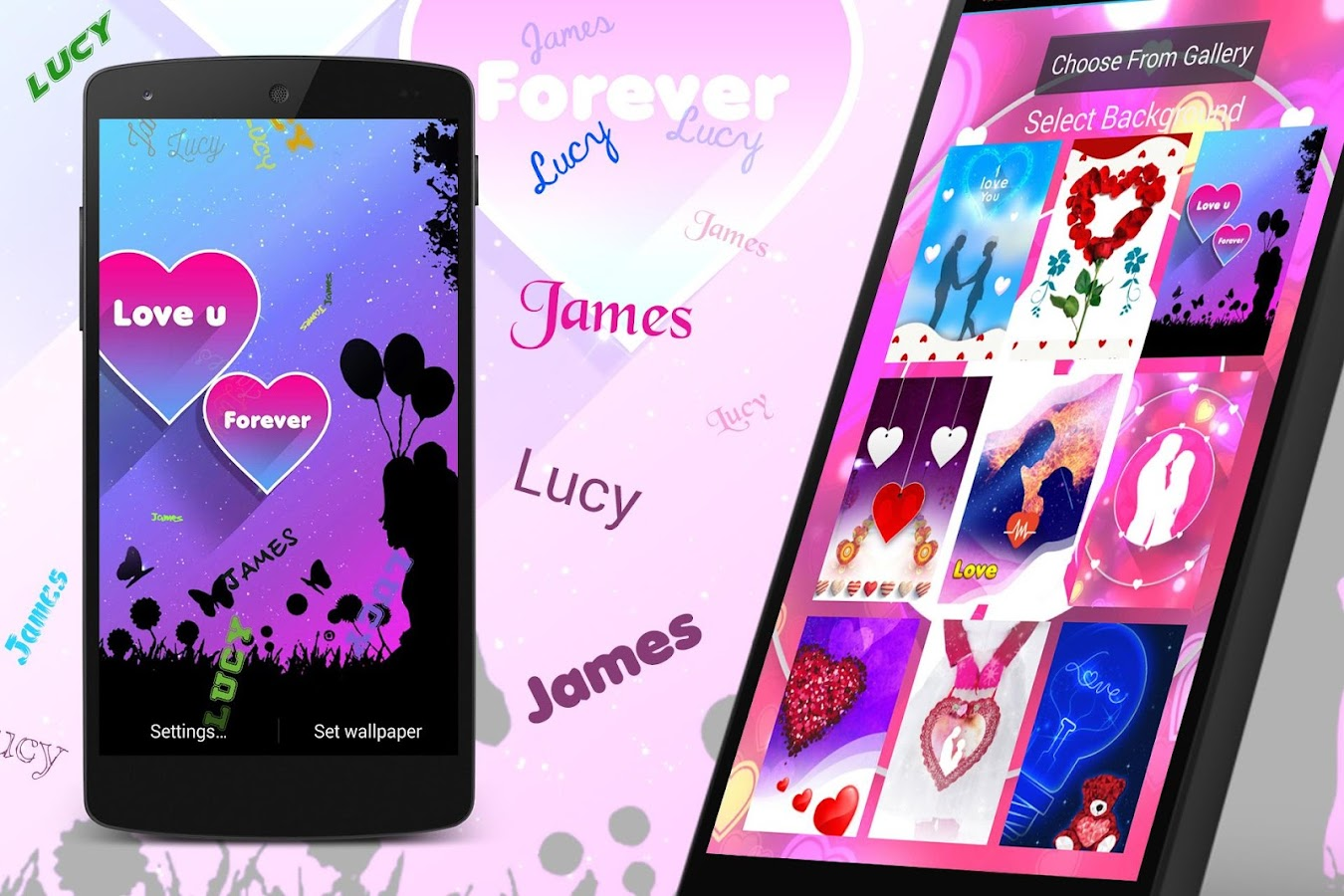 My Love Name Live Wallpaper 25 Screenshot 7