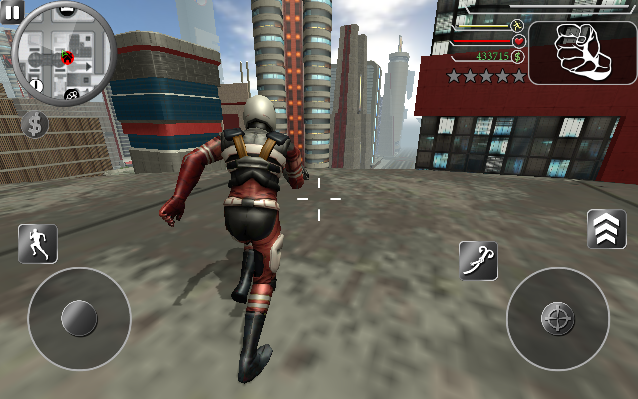 Rope Superhero Unlimited 1 1 APK Download - Android Action Games