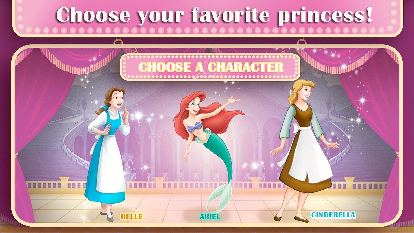 Disney Princess Story Theater 12 Screenshot 2