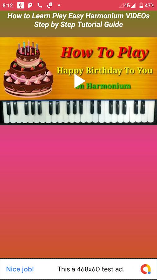 How to Learn Play Easy Harmonium VIDEOs App 1 0 2 APK
