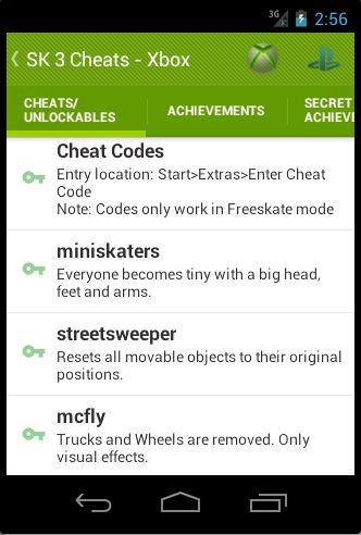<b>Cheats</b> For <b>Skate 3</b>, 2 and 1 1.03 APK Download - Android Books ...