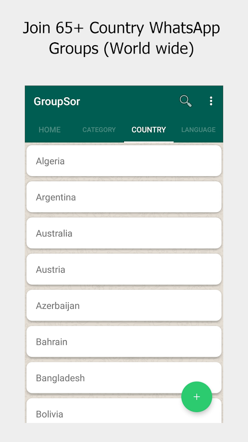 GroupSor - Join & Promote WhatsApp Group Link 1 0 0 APK Download