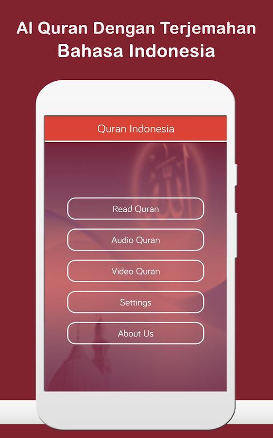 Al Quran Bahasa Indonesia MP3 1.4 screenshot 1 ...