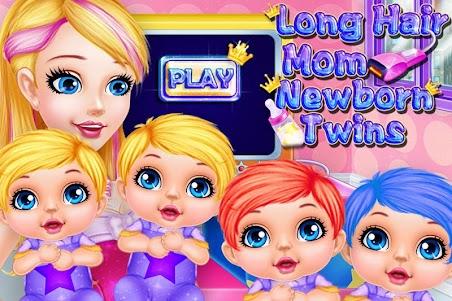 Long Hair Mom Newborn Twins 1.0.0 screenshot 5