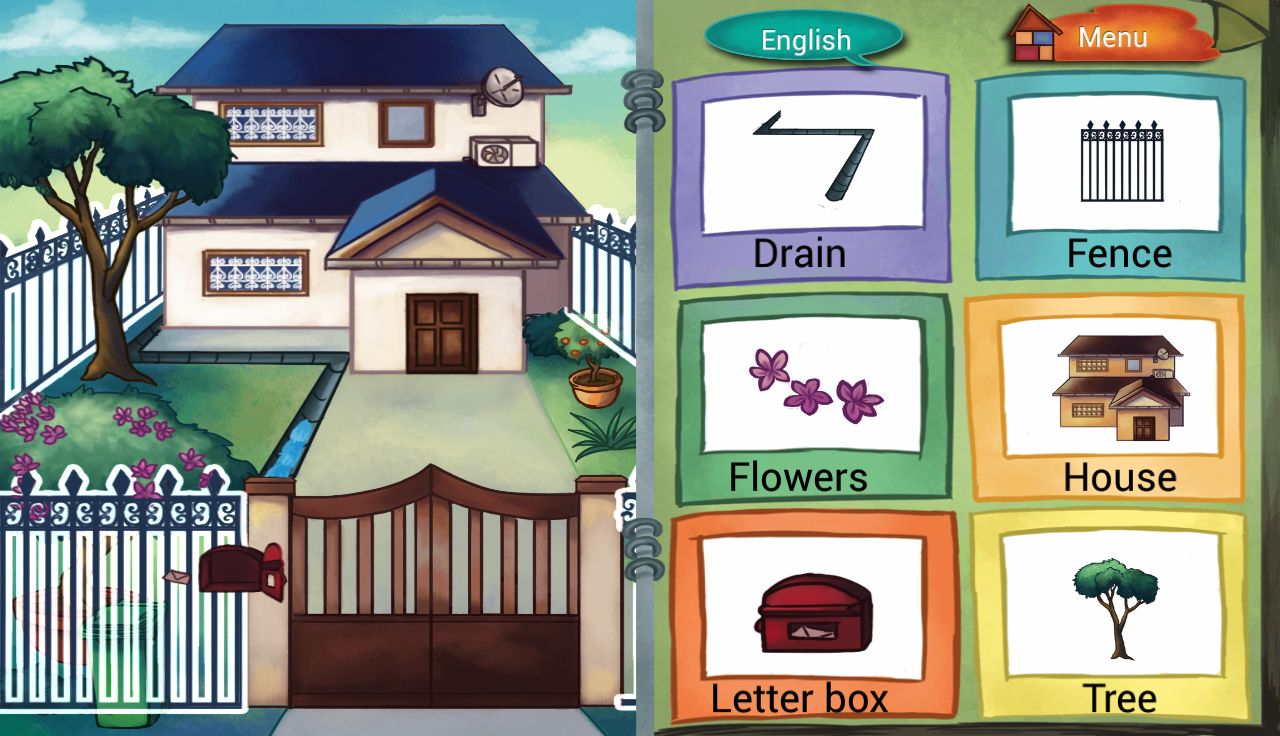 Pic Dictionary - My House 1.1 APK Download - Android Education Apps