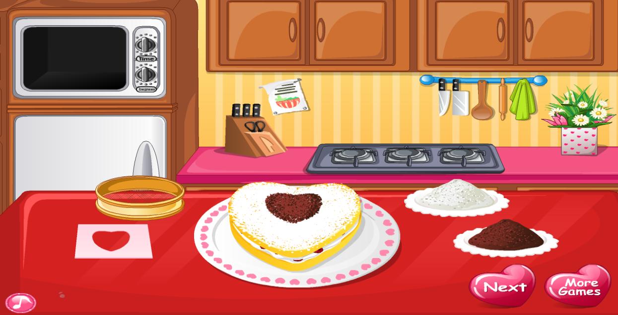 Cake Make Cooking Games