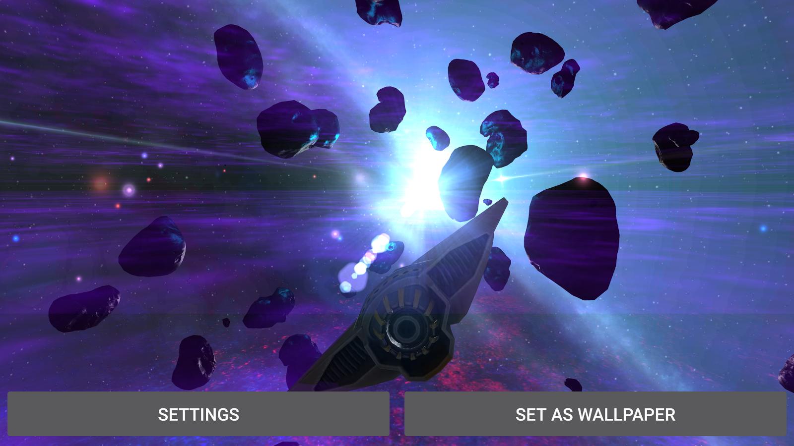 AlienGalaxy Screenshot 22 Alien Galaxy 3D Live Wallpaper