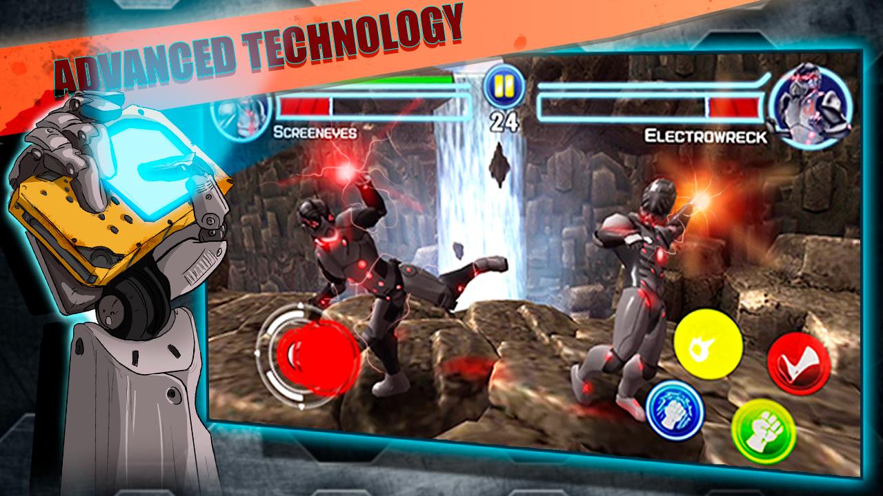 Steel Street Fighter 🤖 Robot boxing game APK Download