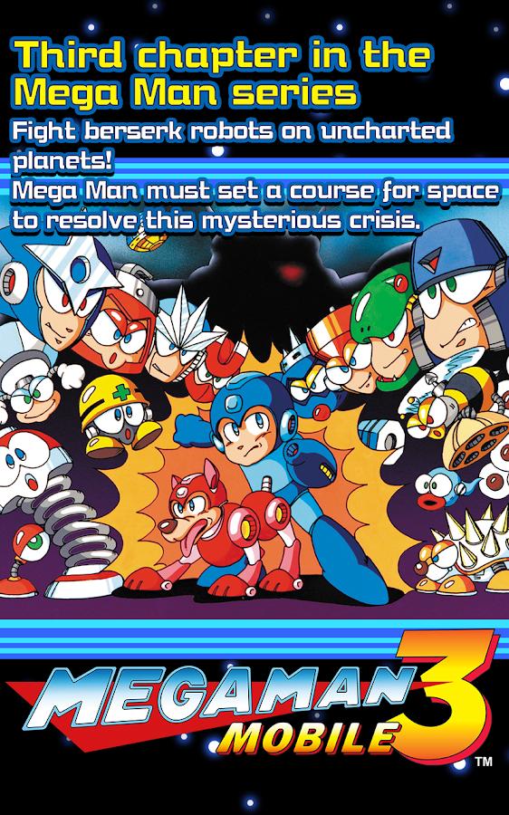 MEGA MAN 3 MOBILE 1 02 00 APK Download - Android Action Games