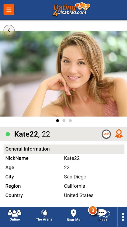 Disabled dating android app