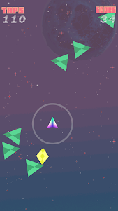 Shape-Ship Run 1.0.1 screenshot 1