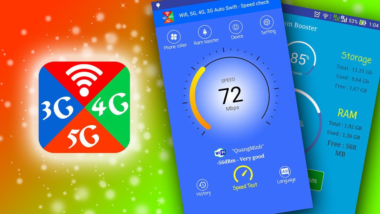 com wifiauto lte5g4g3g swift speedtest networksignal 1 8 APK