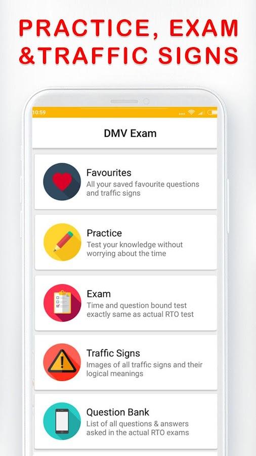 DMV Permit Practice, Drivers Test & Traffic Signs 8 APK