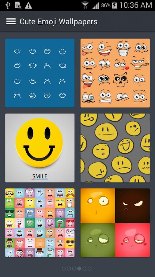 ... Cute Emoji Wallpapers 3.3 screenshot 5 ...