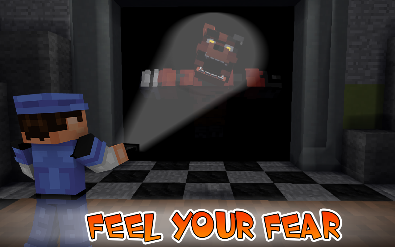 Maps FNAF for Minecraft 1 APK Download - Android Entertainment Apps