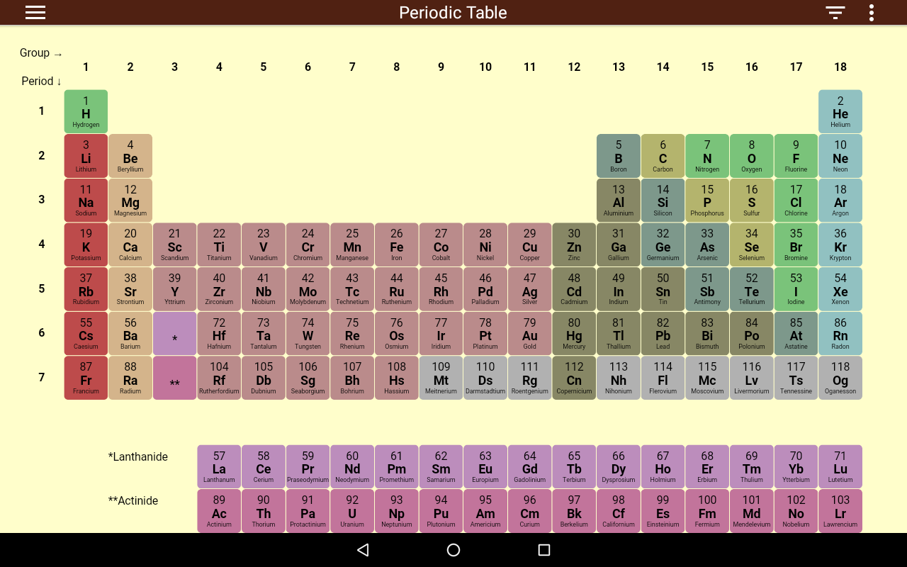 Periodic table 103 apk download android education apps periodic table 103 screenshot 11 urtaz Gallery