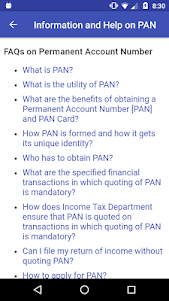 PAN Card Search, Scan, Verify & Application Status 1.0829 screenshot 4