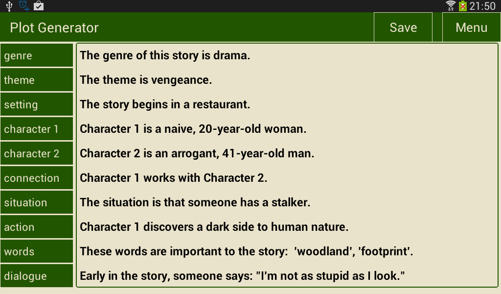 Writer's Plot Generator 1 2 APK Download - Android