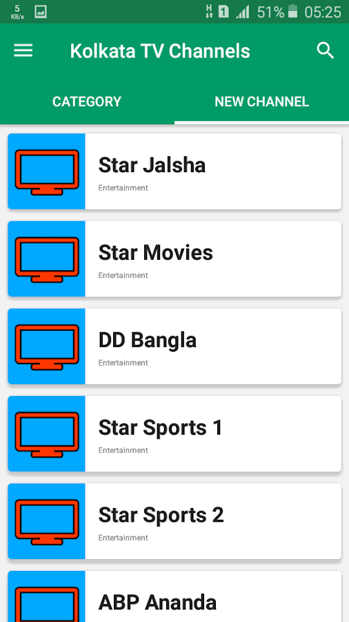 All Kolkata TV Channels 1 0 0 APK Download - Android