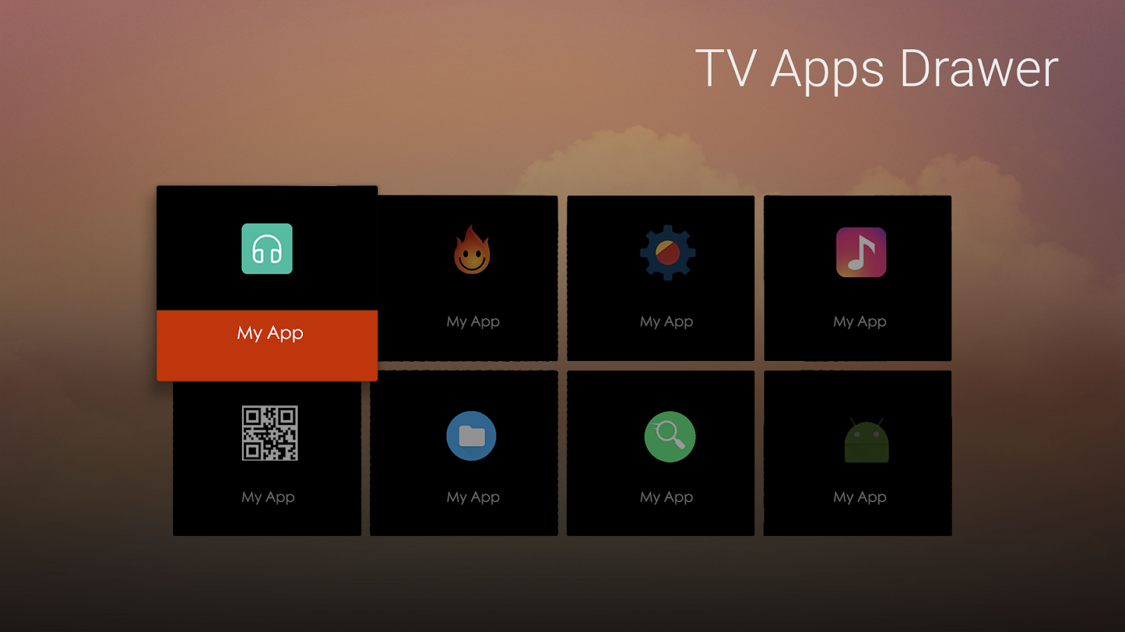 TV Apps Drawer 1 0 6 APK Download - Android Tools Apps