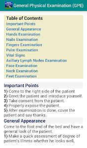 General Physical Examination 2.1 screenshot 1