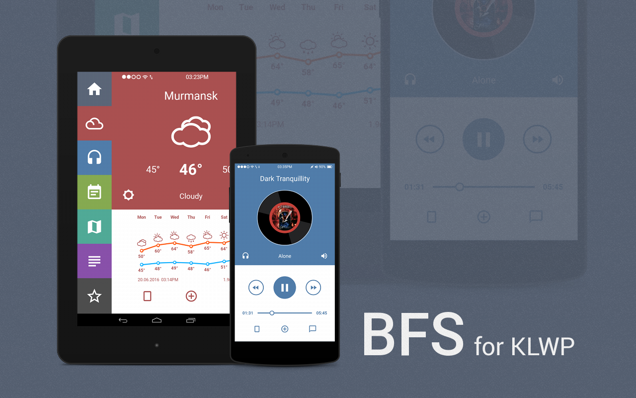 BFS Theme for KLWP 1 5 APK Download - Android