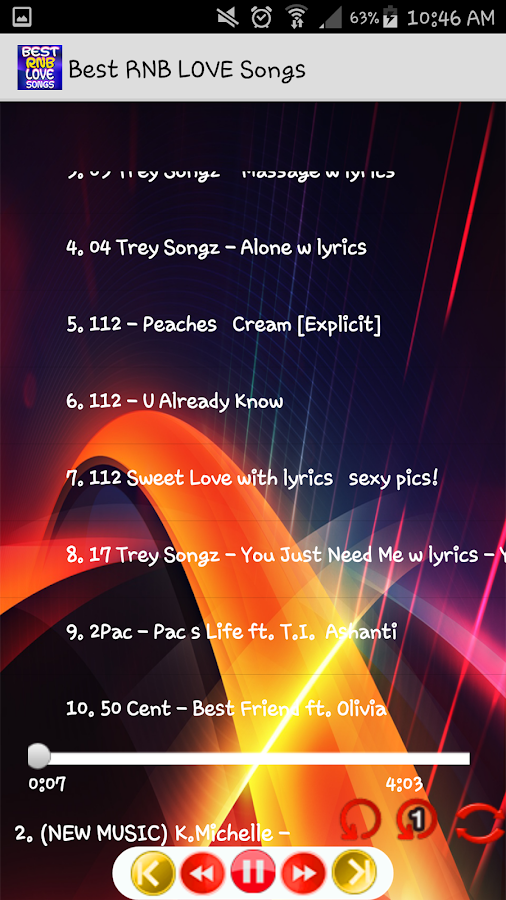 Best RNB Love Songs mp3 4 3 APK Download - Android Music