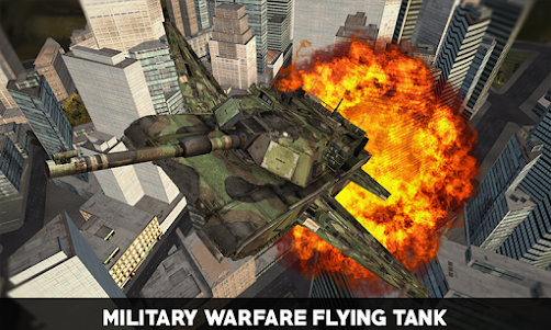 Flying War Tank Simulator 1.0 screenshot 4