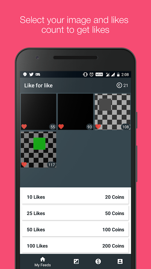 Like4like pro 1 1 02 APK Download - Android Social Apps