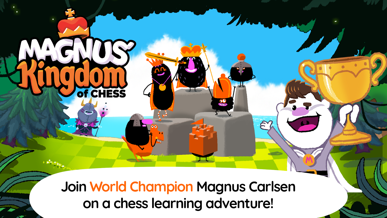 Magnus Kingdom Of Chess 130 Apk Download Android Educational Games Move Checkmate Diagram Furthermore Moves In Addition The Event Screenshot 1