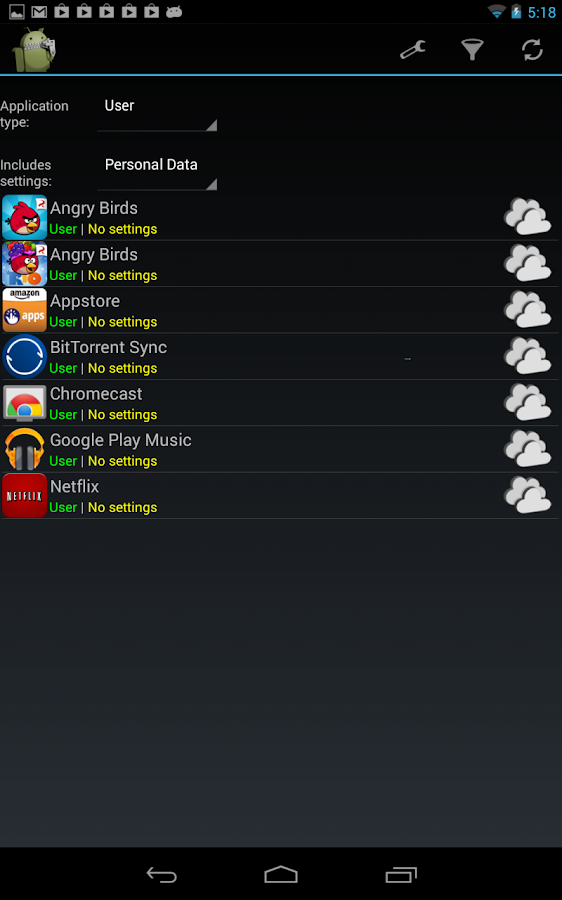 PDroid Manager 0 3 1 1 APK Download - Android Tools Apps