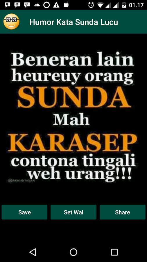 Humor Kata Sunda Lucu 10 Apk Download Android развлечения