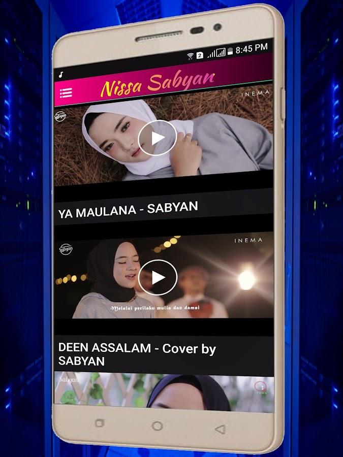 download karaoke maulana ya maulana sabyan