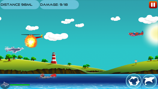 Angry Shark 1.0.4 screenshot 6