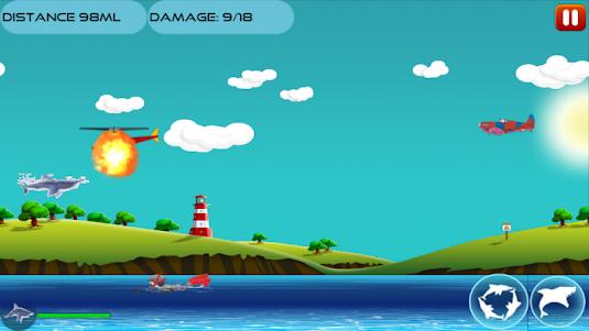 Angry Shark 1.0.4 screenshot 6