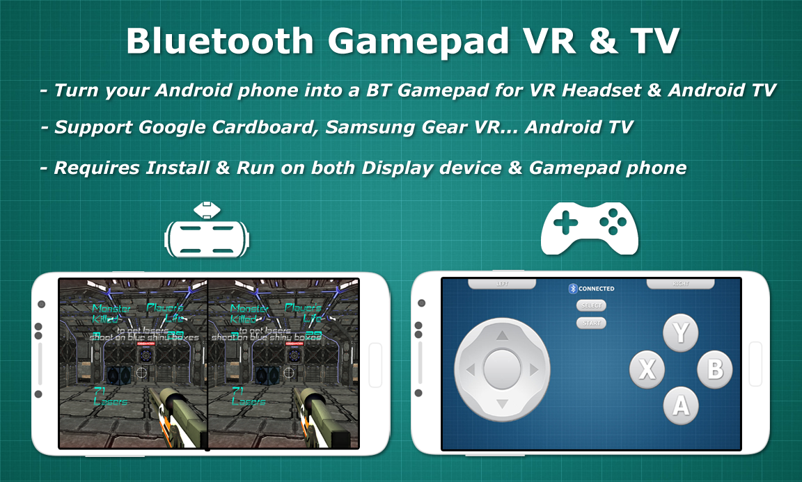 Bluetooth Gamepad VR & TV 1 1 1 APK Download - Android