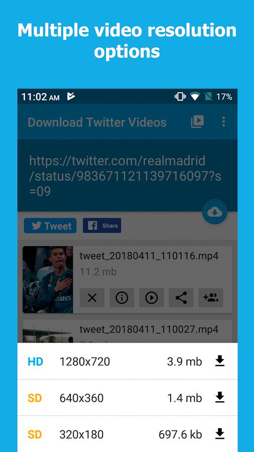 Download Twitter Videos - Twitter video downloader 1 0 APK