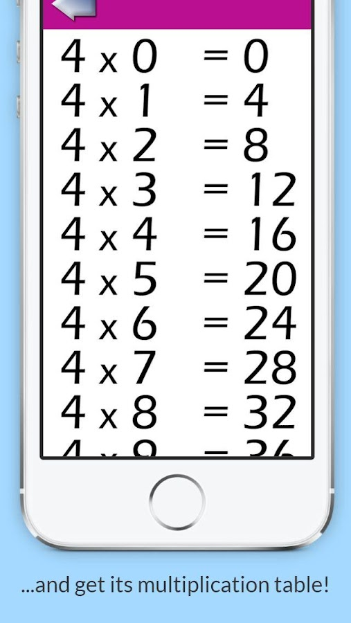 Multiplication Tables 150 Apk Download Android Education Apps