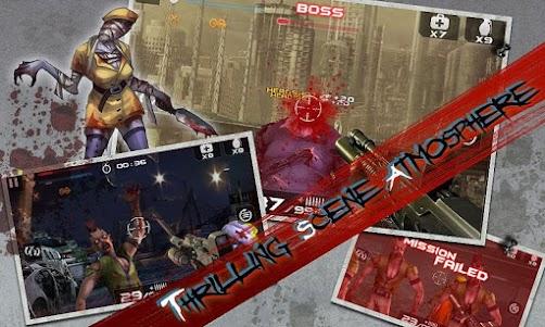 Blood Zombies HD 1.0.9 screenshot 4