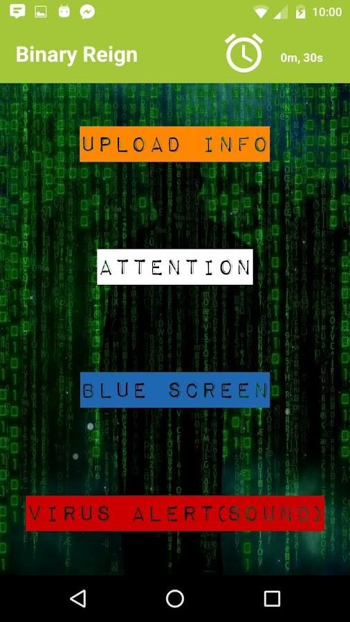 virus download prank