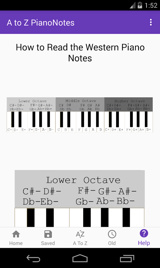 A To Z Piano Notes 150 Apk Download Android Education Apps