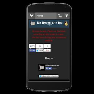 Da Booth Ent Inc 1.0 screenshot 1
