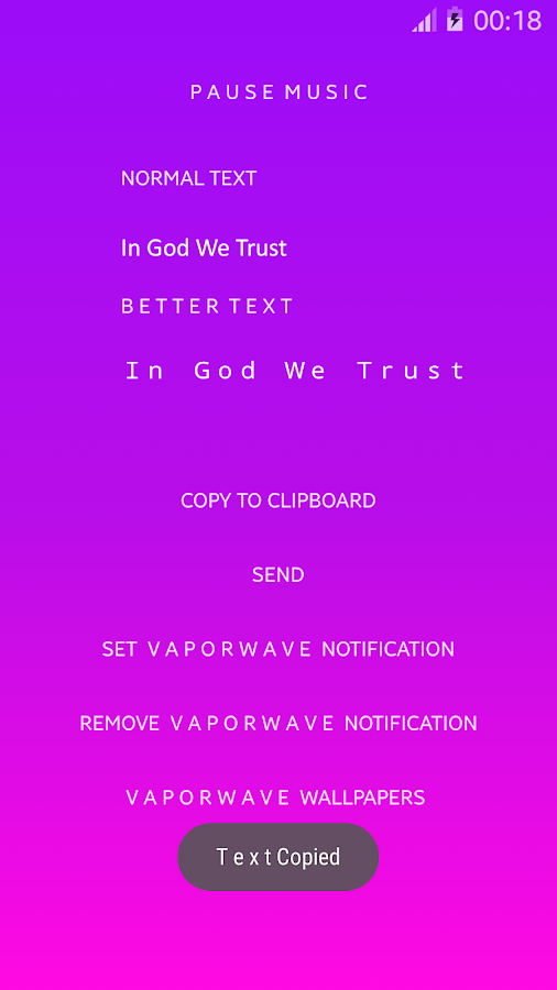 vaporwave & aesthetic- Wide Text Generator