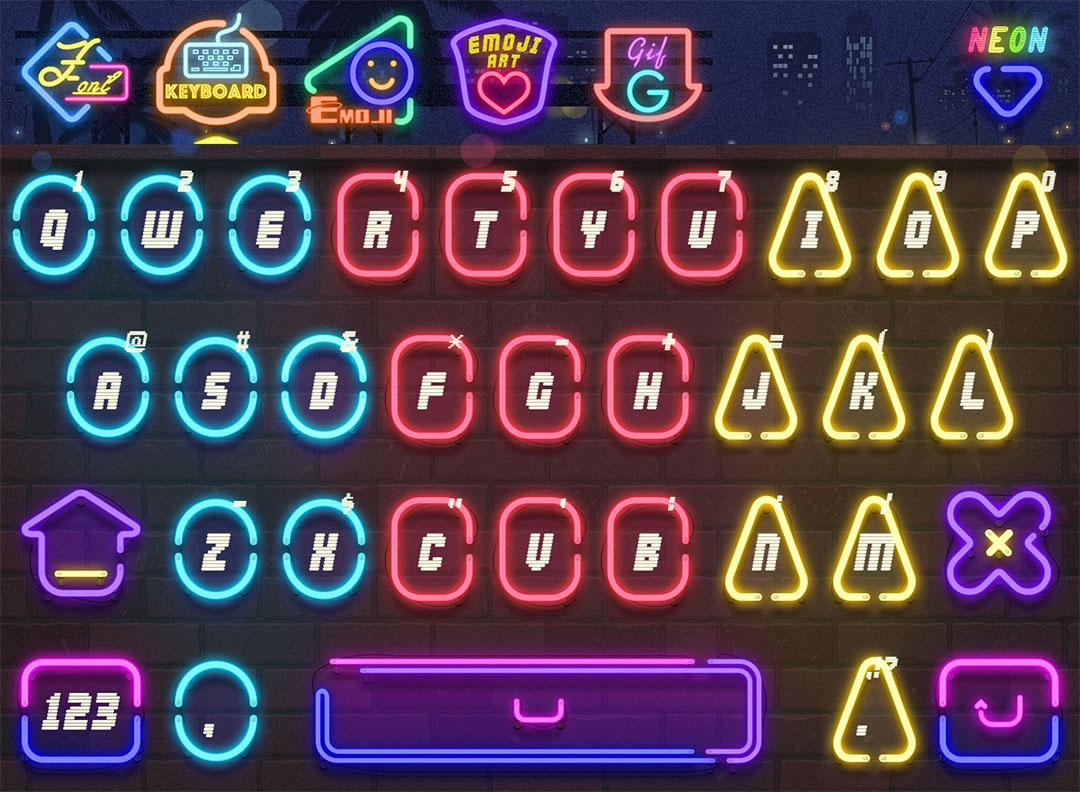 Neon for FancyKey Keyboard 1 6 APK Download - Android Comics Apps