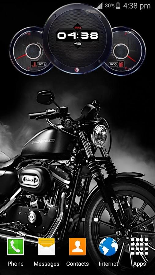 Superbike Clock Wallpaper HD 19 Screenshot 5