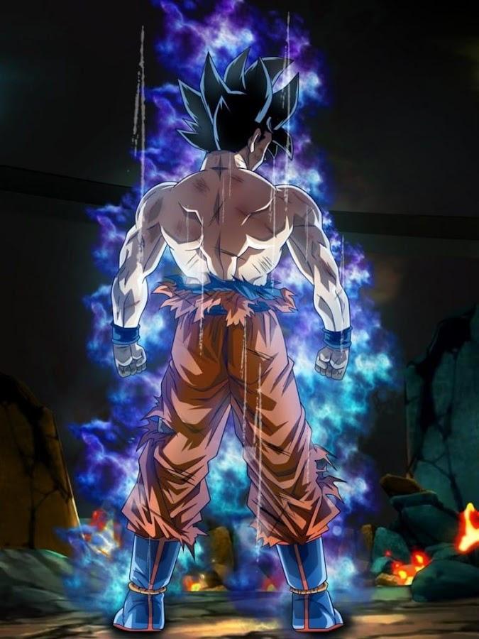 Goku Ultra Instinct Mastered Wallpaper 100% Poder 10 0 APK