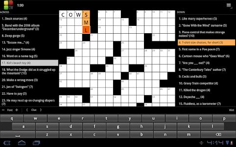 Crossword Puzzle 1.4.15 screenshot 10