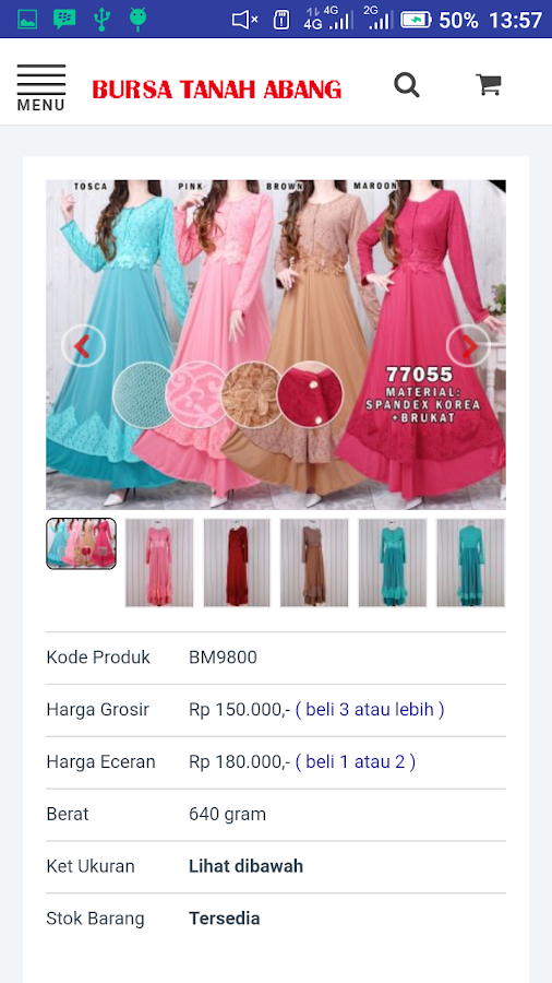 Bursa Tanah Abang 2.0.2 APK Download - Android Shopping Apps 6644b38493